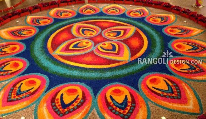 Top 30 Gorgeous Rangoli Designs And Ideas For Diwali