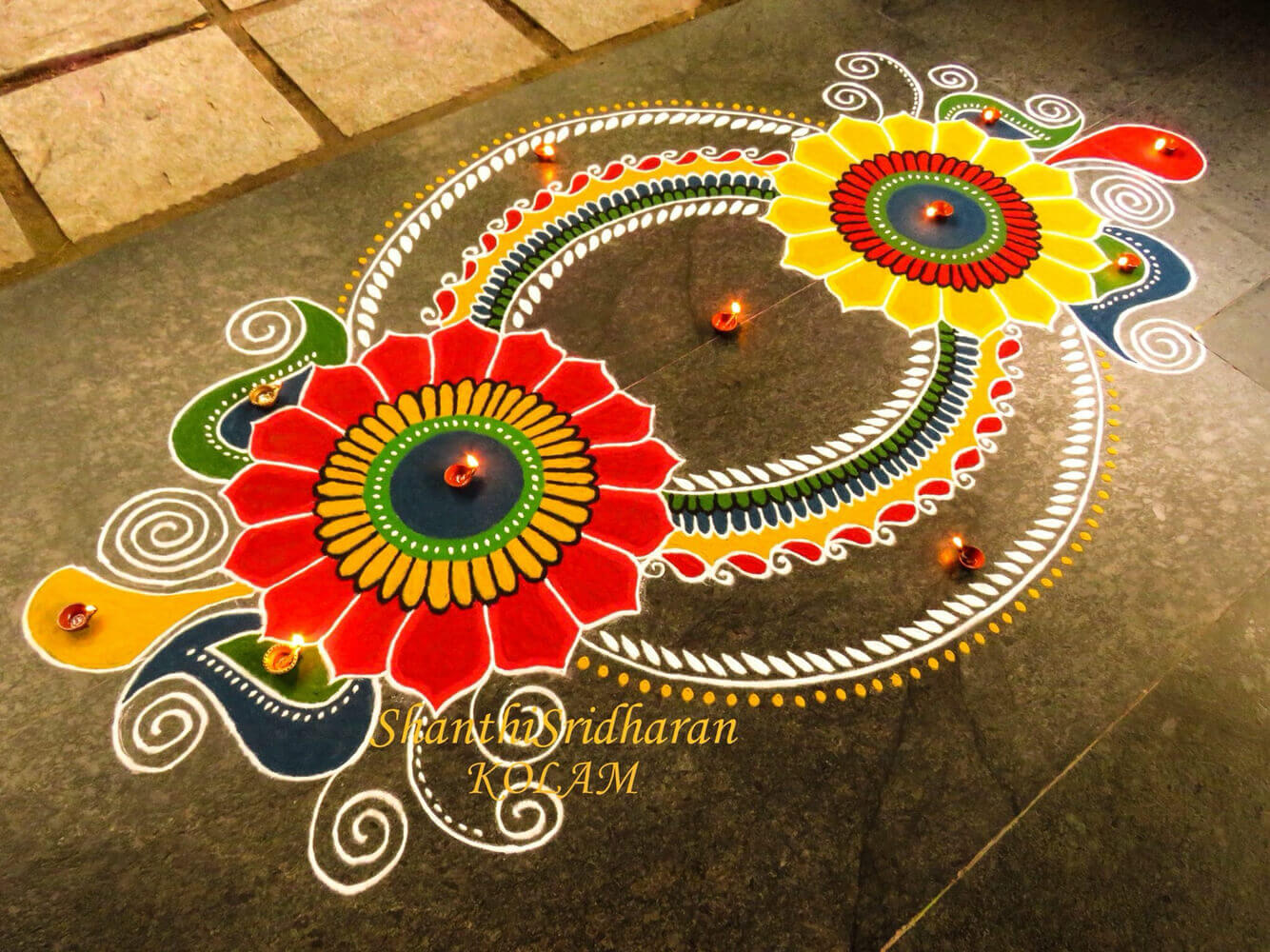 Diwali Rangoli Ideas: Gorgeous Rangoli Designs And Ideas For Diwali 2017