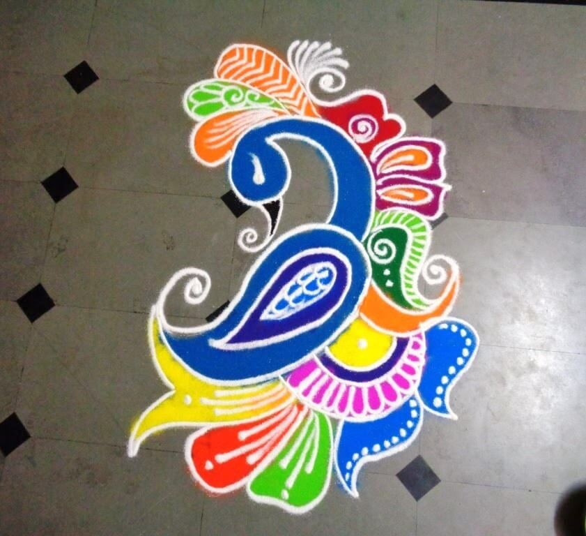 Top 30 Gorgeous Rangoli Designs And Ideas For Diwali