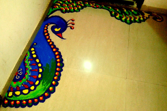 Gorgeous Rangoli Designs And Ideas For Diwali 2017 Festival Around The World