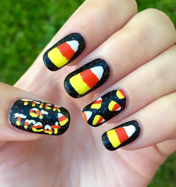 Stunning Halloween Nail Art Ideas