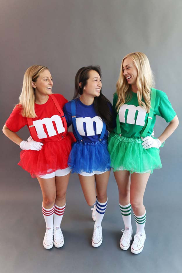 Terrific halloween costume ideas for teens festival around the world this costume idea is extremely easy to make and more than anything you need friends to make it happen just decide the colors first solutioingenieria Images