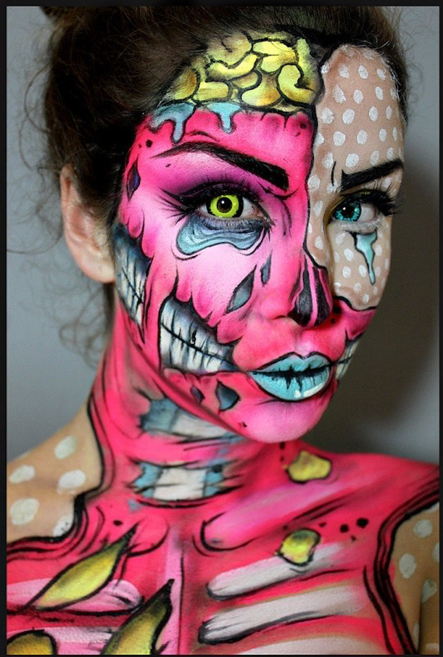 Mesmerizing Halloween Makeup Ideas For 2017