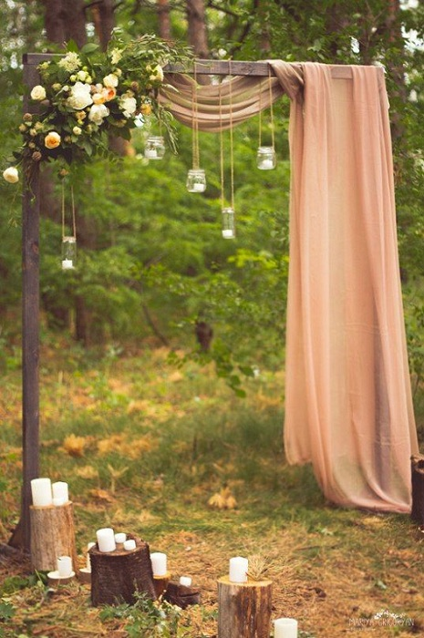 20 stunning wedding altar ideas festival around the world bohemian wedding altar junglespirit Image collections