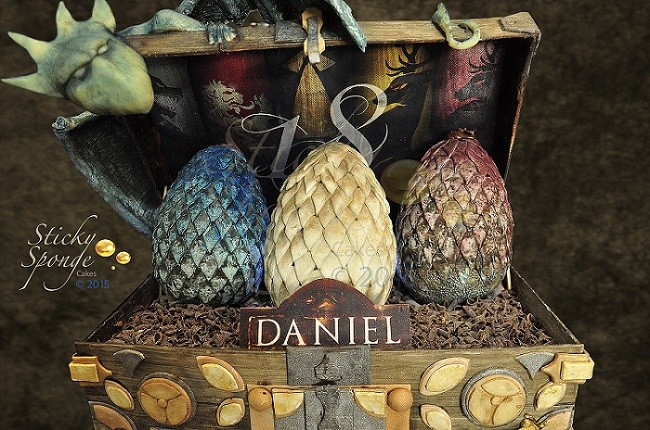 Game Of Thrones Inspired Birthday And Wedding Cake Ideas