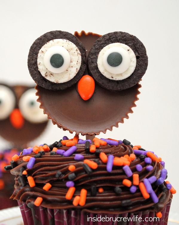 30 Yummy Halloween Cupcake Recipes