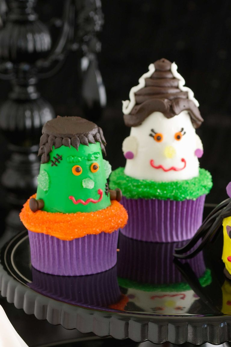 30 Yummy Halloween Cupcake Recipes