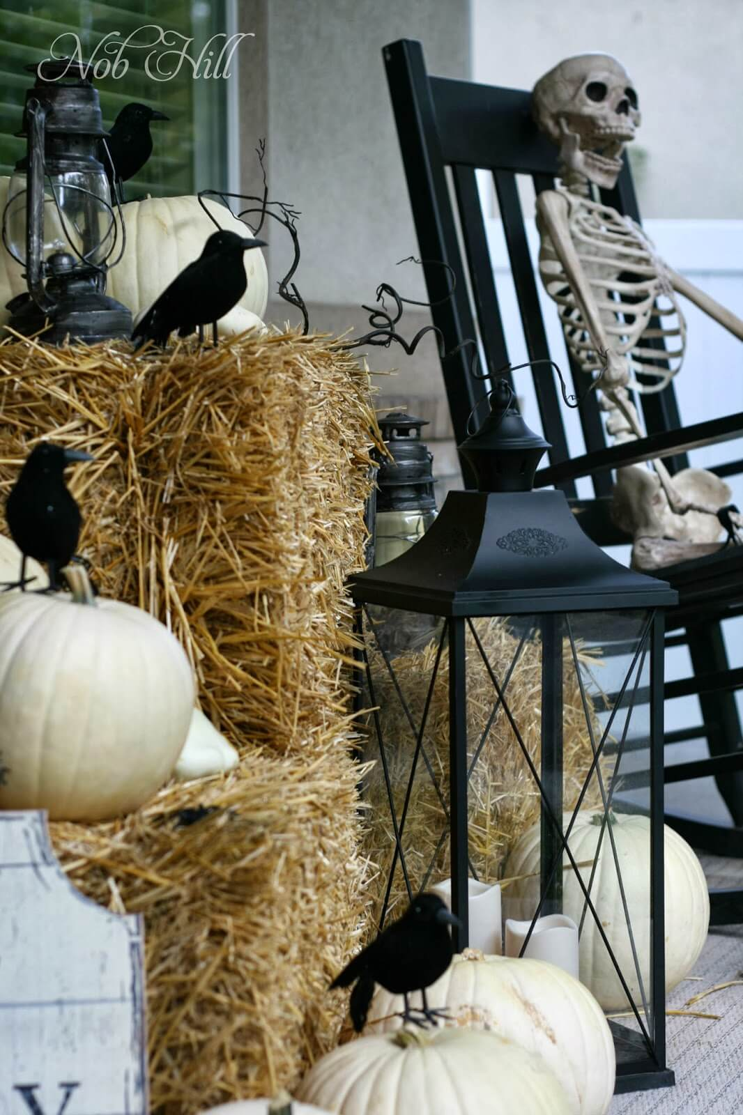 Spooky Halloween Porch Decoration Ideas