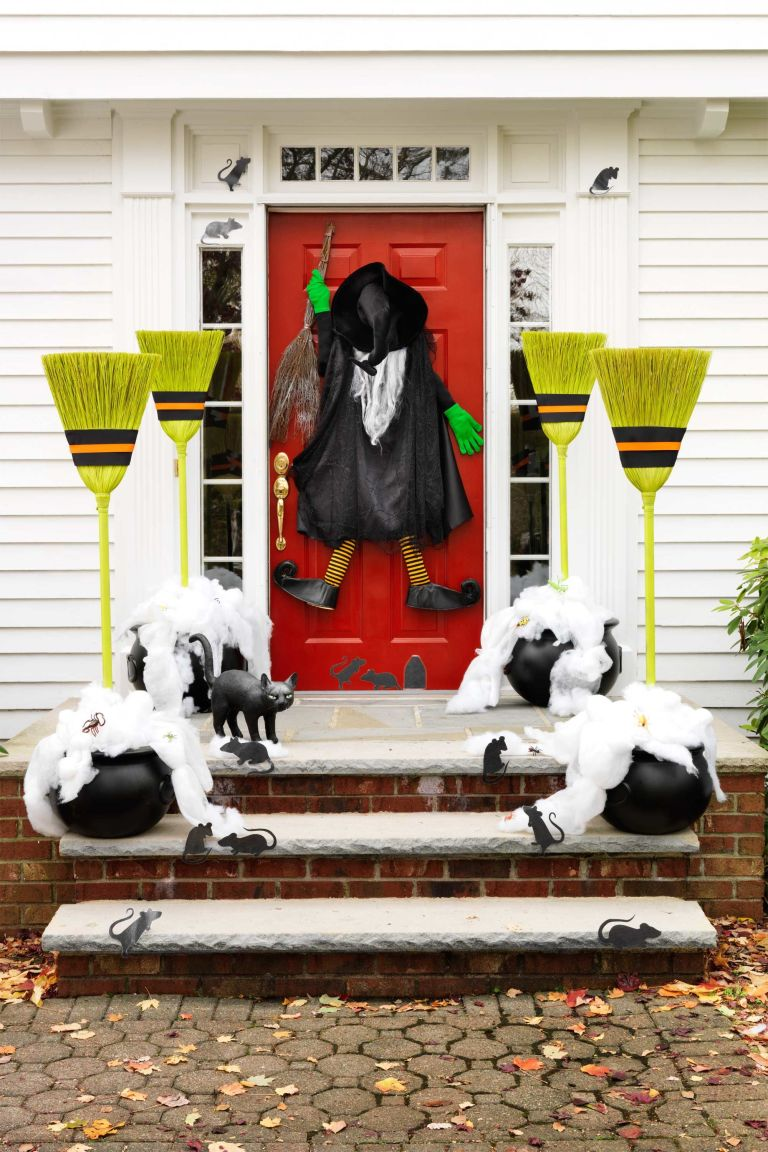 Exquisite Outdoor Halloween Decoration Ideas - Festival ...