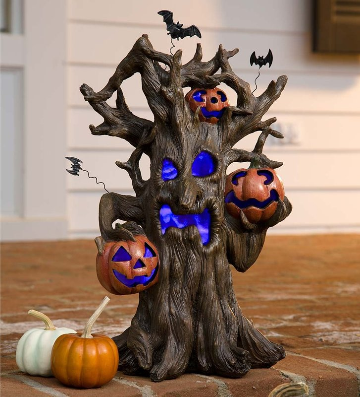 Exquisite outdoor halloween decoration ideas festival around the world - Idee decoration halloween ...
