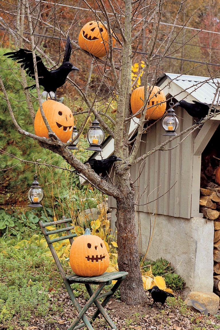 Exquisite outdoor halloween decoration ideas festival for Idee deco halloween